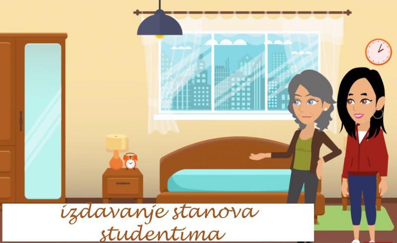 Gde studentu iznajmiti stan u Novom Sadu?
