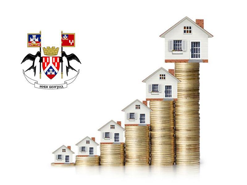 Cene iznajmljivanja nekretnina na Novom Beogradu