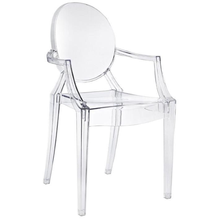 Stolica od providne plastike