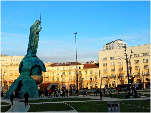 Spomenik Nemanji Beograd